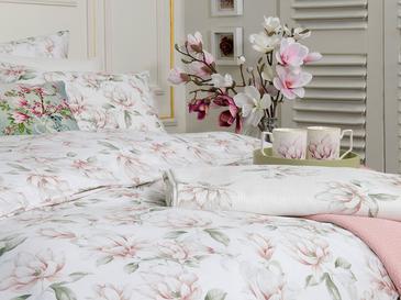 Magnolia Pamuklu Super King Nevresim Seti 260x220 Cm Pembe
