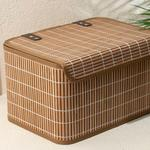 Hardwood Bambu Saklama Kutusu 33x23x20 Cm Kahve