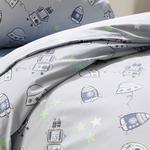 Space Pamuklu Çocuk Nevresim Takımı 160x220 Cm Gri