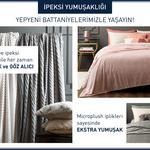 Plain Super Soft Çift Kişilik Battaniye 200x220 Cm Pembe