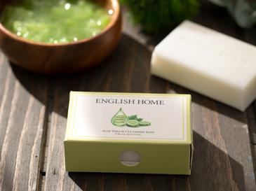 Aloe Vera Ve Salatalık Özlü Doğal Sabun 100 Gr Şeffaf