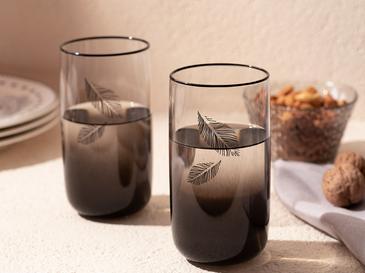 Dena Cam 3'lü Meşrubat Bardağı 365 Ml Siyah