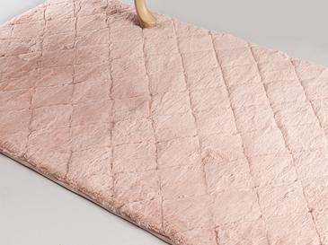 Rabbit Polyester Kaydırmaz Taban Post Halı 80x140 Cm Pudra