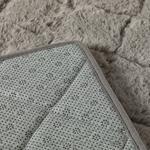 Rabbit Polyester Banyo Paspası Seti 50x80 - 45x50 Cm Antrasit