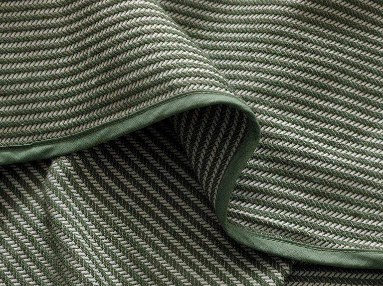 Striped Dokuma Çift Kişilik YATAK ÖRTÜSÜ 200x230 cm Çağla Yeşili