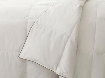 Super Soft Kaz Tüyü Çift Kişilik Yorgan 195x215 Cm Beyaz