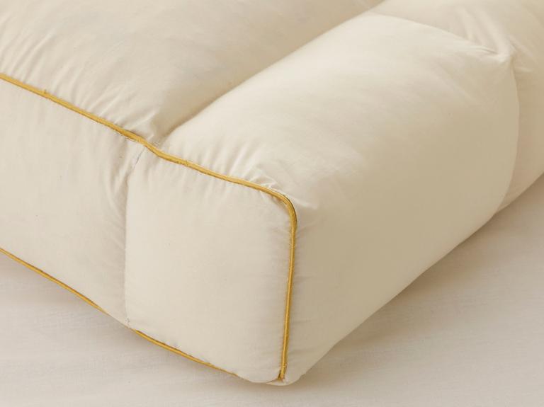 Comfort Medical Kaz Tüyü Yastık 60x40x12 Cm Açık Sarı