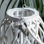 Shiny Bambu Fener 17x18cm Beyaz