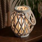 Shiny Bambu Fener 17x22cm Beyaz