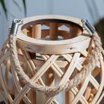 Shiny Bambu Fener 15x14cm Bej