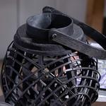 Elegance Bambu Fener 19x21cm Siyah