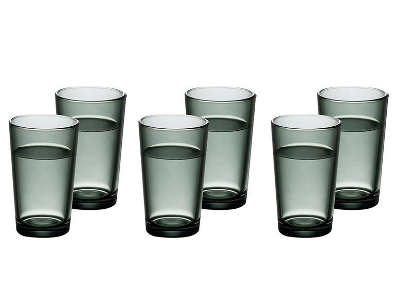 Pia Cam 6'lı Kahve Yanı Su Bardağı 100 Ml Yeşil