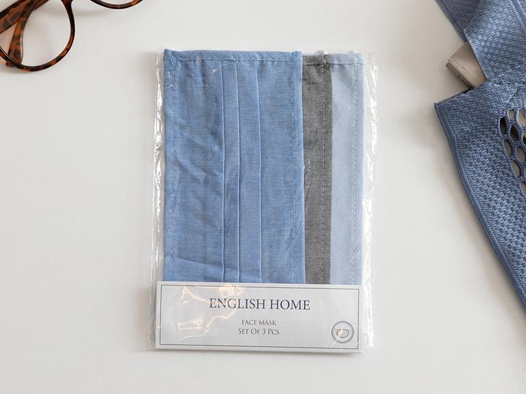 Blue Lıfe Pamuk Maske 9,5x18 Cm Mavi