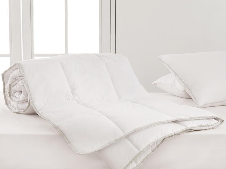 Natural Aloevera Çift Kişilik Yorgan 195x215 Cm Beyaz