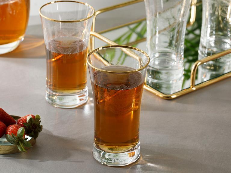 Helena Cam 4'lü Meşrubat Bardağı 300 Ml Şeffaf
