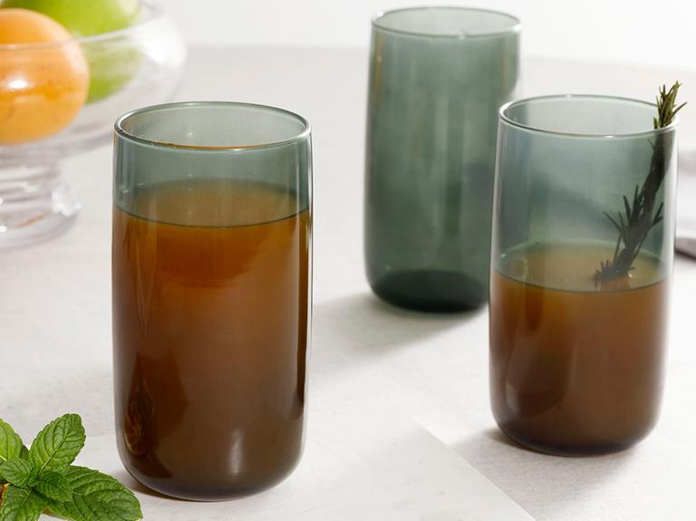 Pia Cam 3'lü Meşrubat Bardağı 365 Ml Yeşil