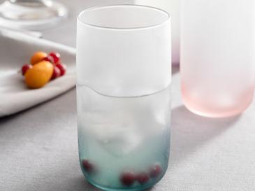 Mat Cam 3'lü Meşrubat Bardağı 365 Ml Renkli