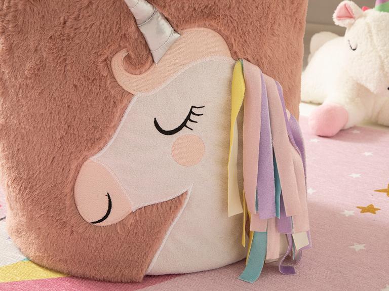 Unicorn Oyuncak Sepeti 40x26 Cm Pembe