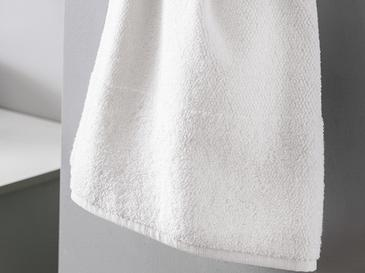 Pirinç Bordürlü Banyo Havlusu 60x110 Cm Beyaz