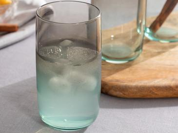Degetto Cam 3'lü Meşrubat Bardağı 365 Ml Yeşil-Kahve