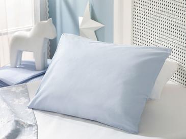 Soft Pamuklu . Bebe Yastık Kılıfı 35X45 Cm Mavi