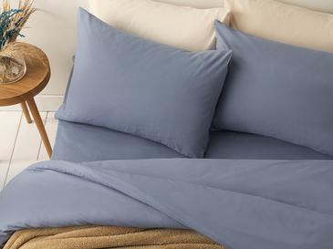 Pure Pamuk Çift Kişilik Nevresim Takımı 200x220 Cm Mavi