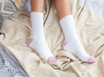 Plain Polyester Kadın 2'li Çorap 39-41 Ekru