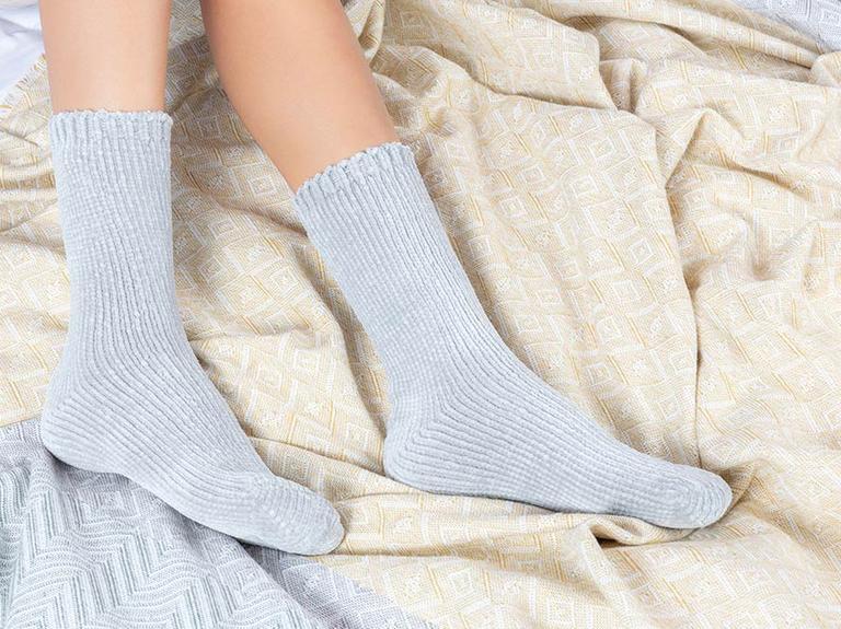 Velvet Kadife Kadın Çorap 39-41 Gri