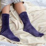 Velvet Kadife Kadın Çorap 39-41 Lacivert