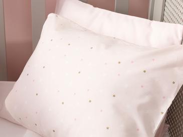 Mini Astro Pamuklu Bebe Yastık Kılıfı 35x45 Cm Pembe