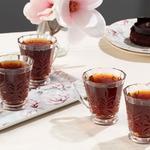 Catty Cam 4'lü Kulplu Çay Bardağı 195 Ml Şeffaf