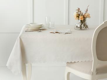 Daina Polyester Masa Örtüsü 150x200 Cm Taş Rengi