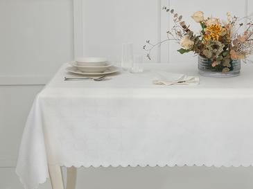 Darcy Polyester Masa Örtüsü 150x200 Cm Yeşil