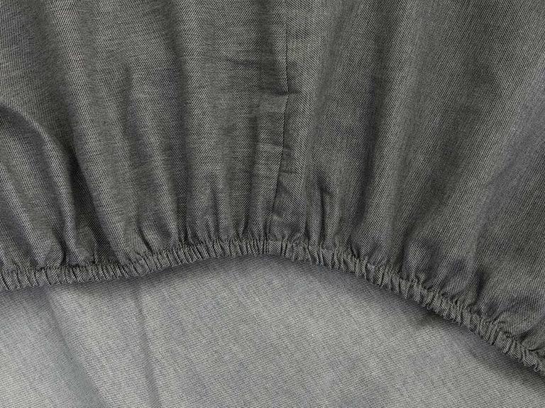 Sharp Twill Suit King Size Nevresim Takımı 240x220 Cm Gri