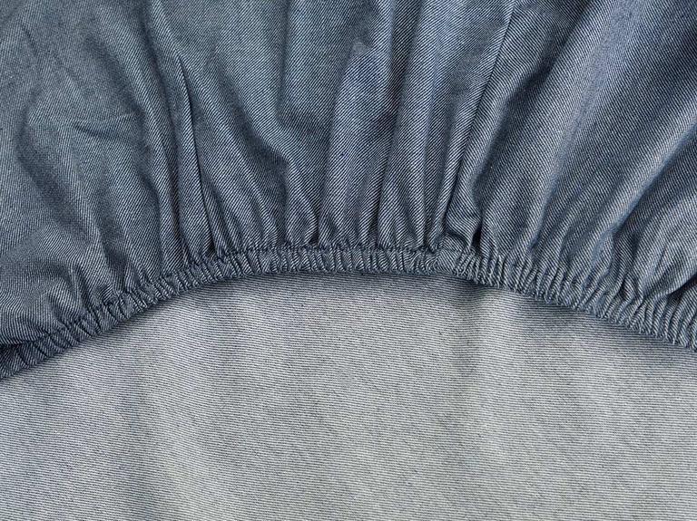Sharp Twill Suit King Size Nevresim Takımı 240x220 Cm Lacivert