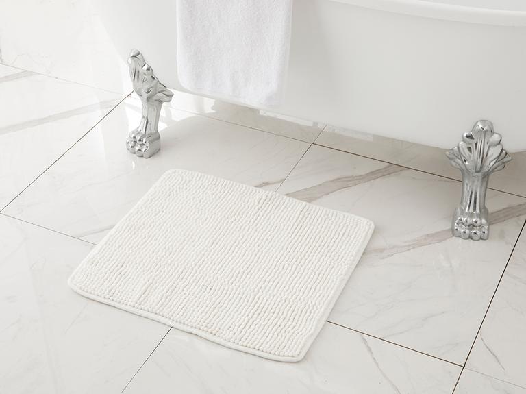 Maggy Makarna Banyo Paspası 50x60 Cm Ekru