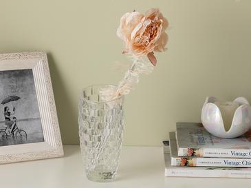 Rosse Polyester Yapay Çiçek 65 Cm Yavruağzı