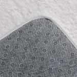 Sheep Polyester Banyo Paspası Seti 50x80 - 45x50 Cm Beyaz