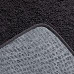 Sheep Polyester Banyo Paspası Seti 50x80 - 45x50 Cm Antrasit