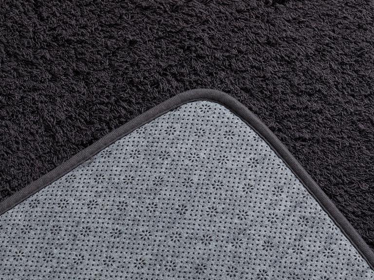 Sheep Polyester Banyo Paspası Seti 60x100 - 50x60 Cm Antrasit