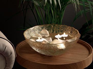 Carmen Dekoratif Kase 30 Cm  Gold