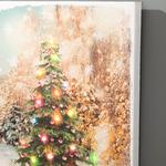 New Year Tablo 30x40x1,8 Cm Renkli