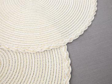 Nila Polyester 2'li Amerikan Servis 38 Cm Bej
