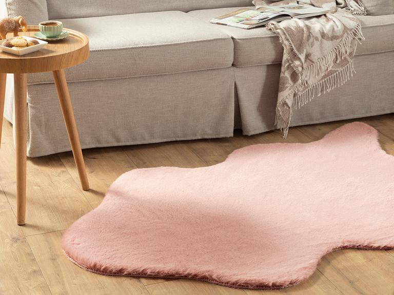 Solid Rabbit Polyester Post 90x200 Pembe