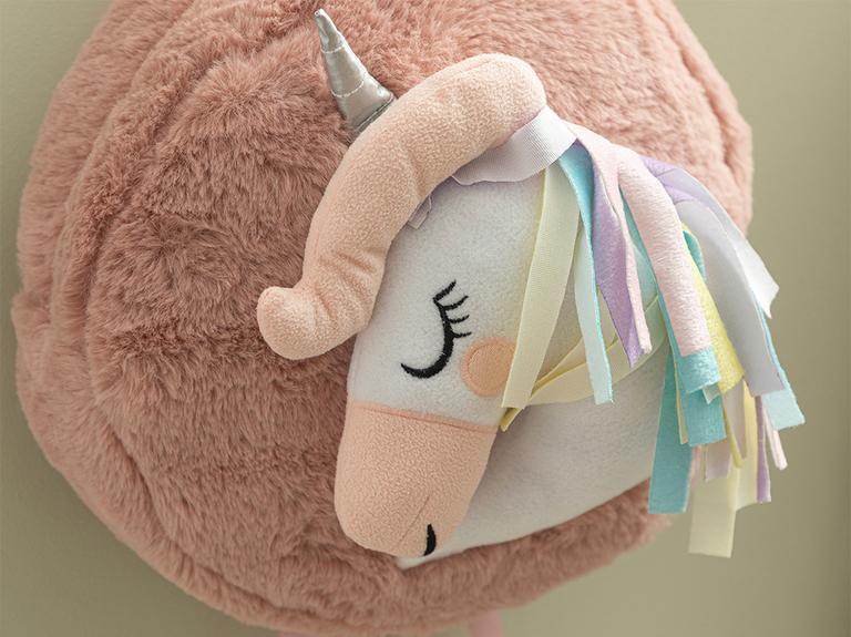 Mini Unicorn Çocuk Çanta 25x25 Cm Pembe