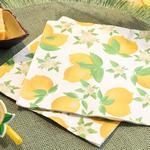 Fruits 20'li Kağıt Peçete 33x33 Cm Beyaz - Sarı