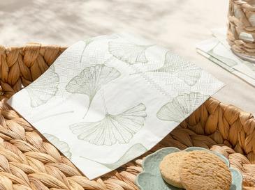 Gingko 20'li Kağıt Peçete 33x33 Cm Yeşil