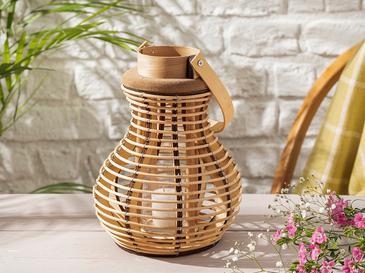 Nature Bambu Fener 19x19x26 Cm Kahve