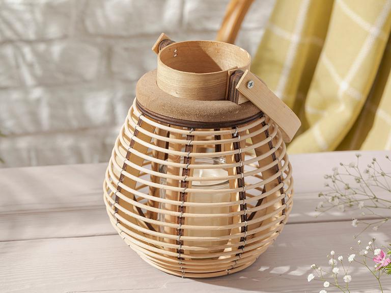 Fancy Bambu Fener 18x22 Cm Kahve