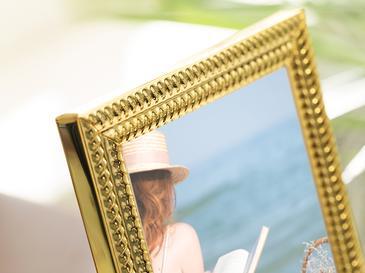 Fancy Çerçeve 12x 17 X 1.3 Cm Gold